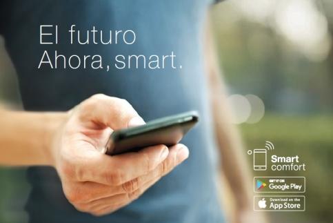 El futuro.Ahora Smart. - Aire acondiconado split inverter calefacción climatización radiadores calderas carrier midea