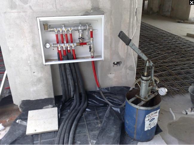 Colectores calefaccion por radiadores perfect los - Calefaccion radiante ...