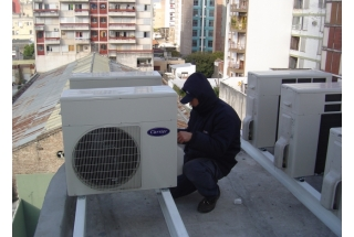 Edificio Embajador - Aire acondiconado split inverter calefacción climatización radiadores calderas carrier midea